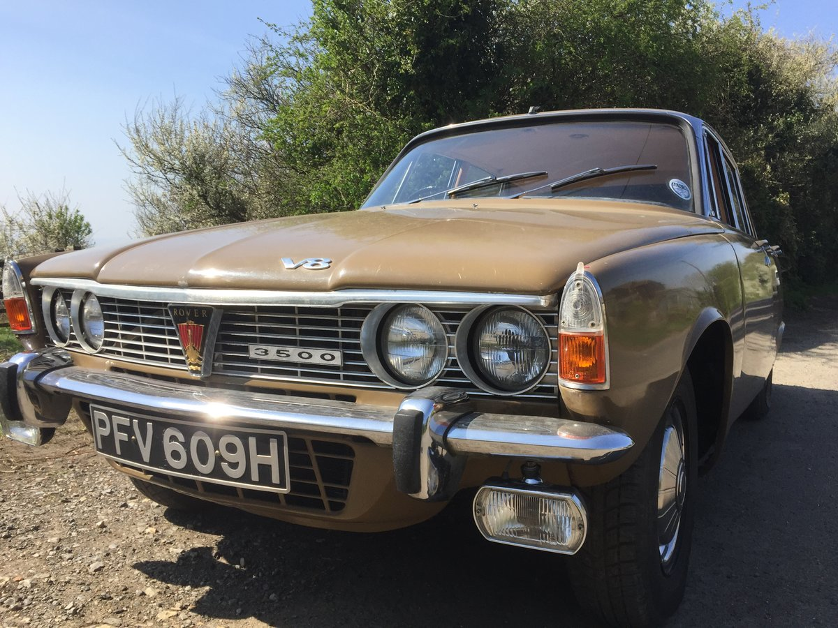 1970 Rover P6 3500 V8 Series 1 Auto For Sale (picture 1 of 6)