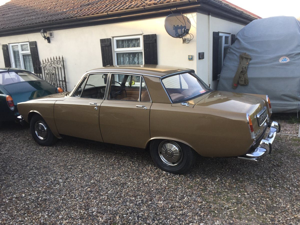 1970 Rover P6 3500 V8 Series 1 Auto For Sale (picture 2 of 6)