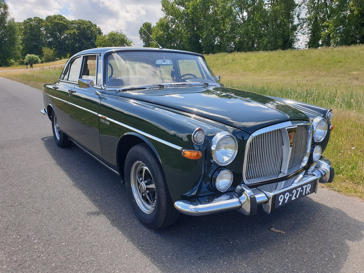 1972 Rover P5B Coupe  rare LHD For Sale (picture 1 of 6)