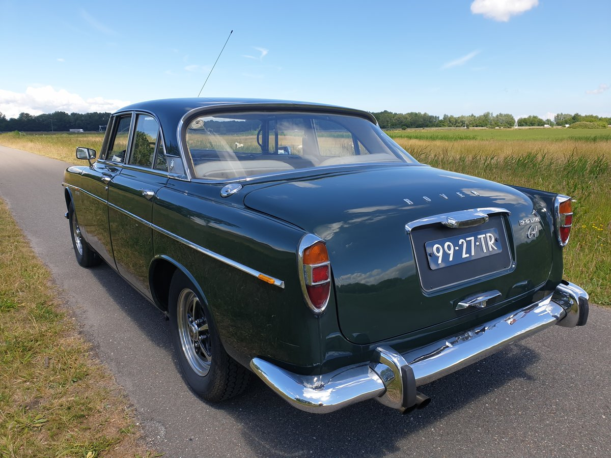 1972 Rover P5B Coupe  rare LHD For Sale (picture 2 of 6)