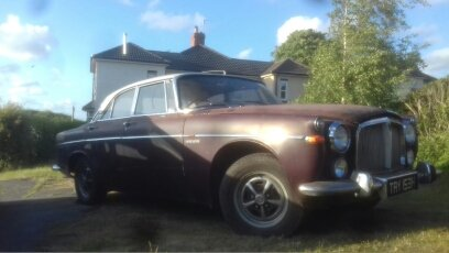 1969 Rover P5b Project