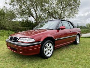 ROVER CABRIOLET 1.6 CONVERTIBLE AUTOMATIC RARE MODERN CLASSI