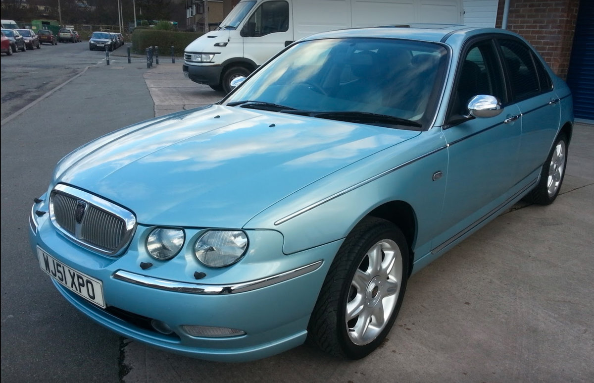 2001 Rover75 connoisseur SE For Sale (picture 1 of 6)