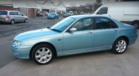 2001 Rover75 connoisseur SE For Sale (picture 2 of 6)