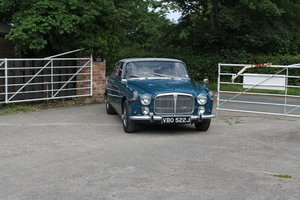 Picture of 1971 Rover P5B Coupe - Zircon Blue, Cream leather, Chrome Wires SOLD