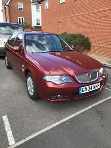 2004 Rover 45 club se 39000 miles with service history,
