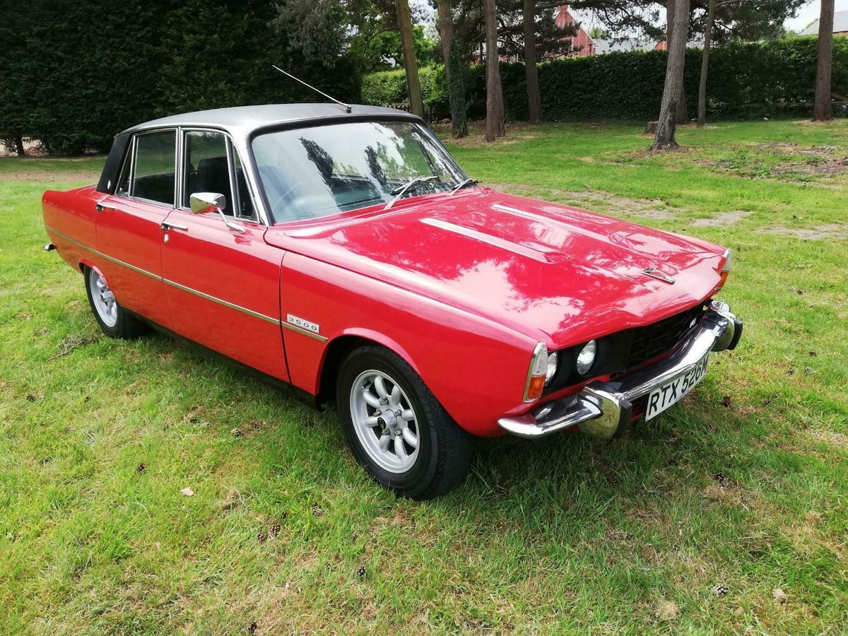 1974 excellent Rover P6 3500b For Sale (picture 1 of 6)