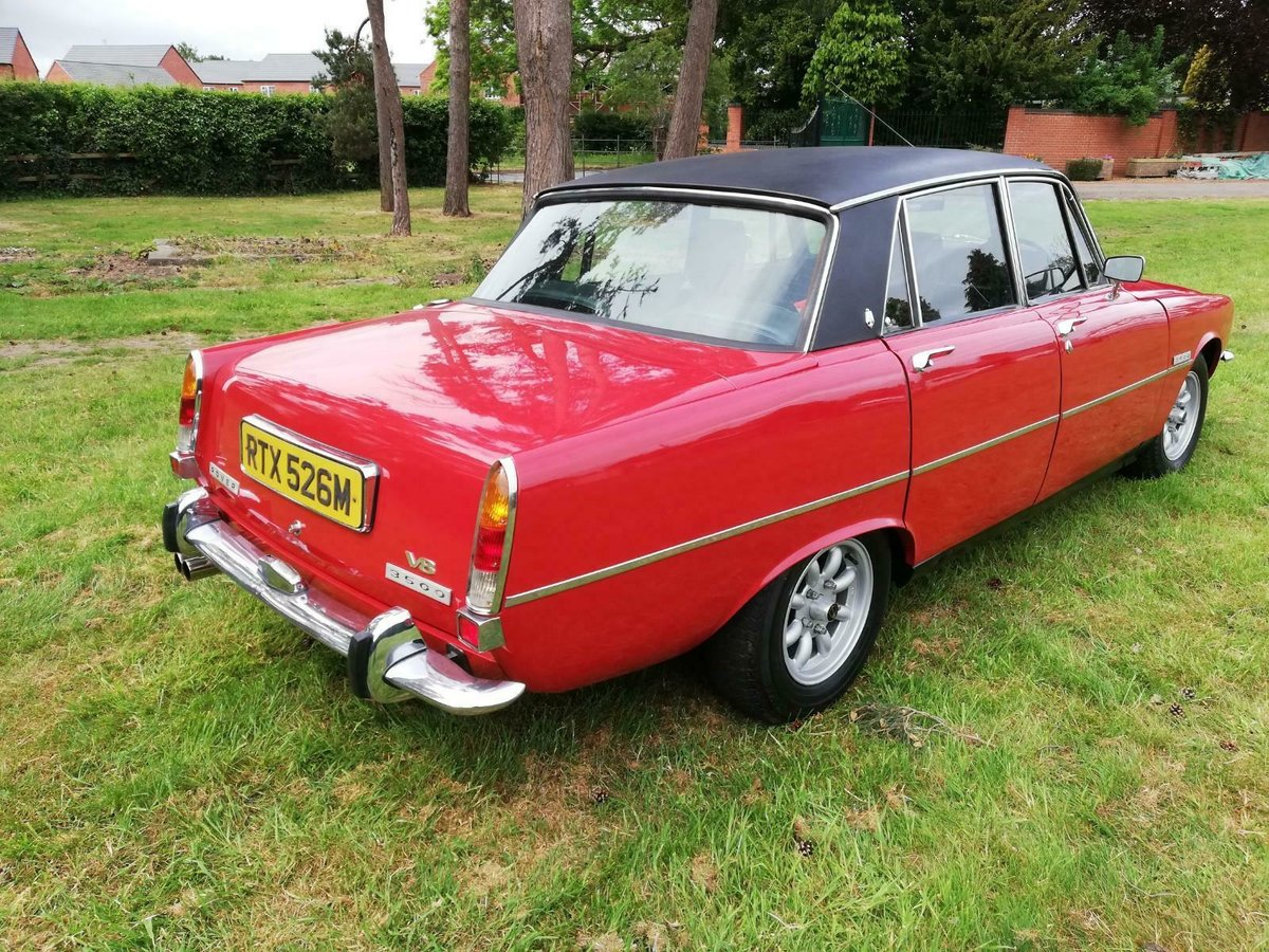 1974 excellent Rover P6 3500b For Sale (picture 2 of 6)