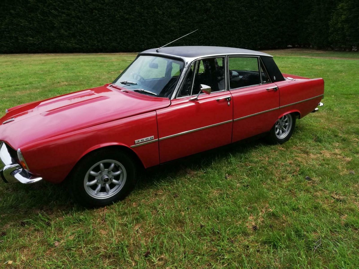 1974 excellent Rover P6 3500b For Sale (picture 5 of 6)