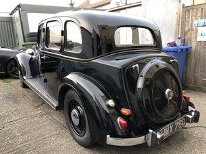 Rover  P2 16  1938 Model salon