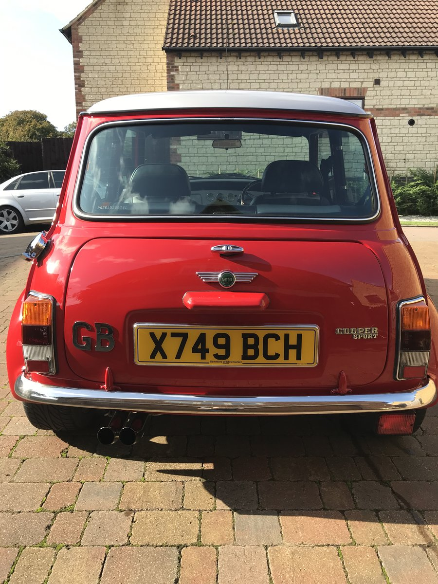 Reduced. Mini Cooper Sport 2000 SOLD (picture 6 of 6)