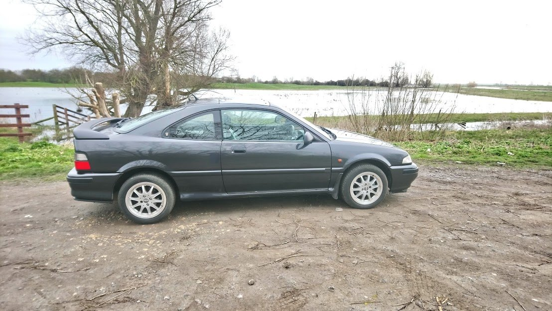 1995 Rover 220 Coupe Tomcat For Sale (picture 1 of 6)
