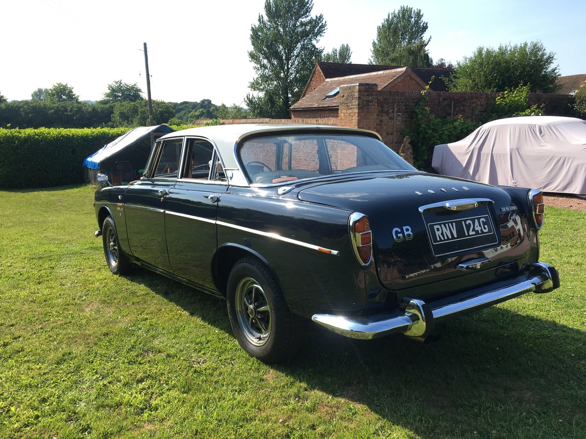1968 Rover P5B 3.5 Litre Coupe For Sale (picture 2 of 6)