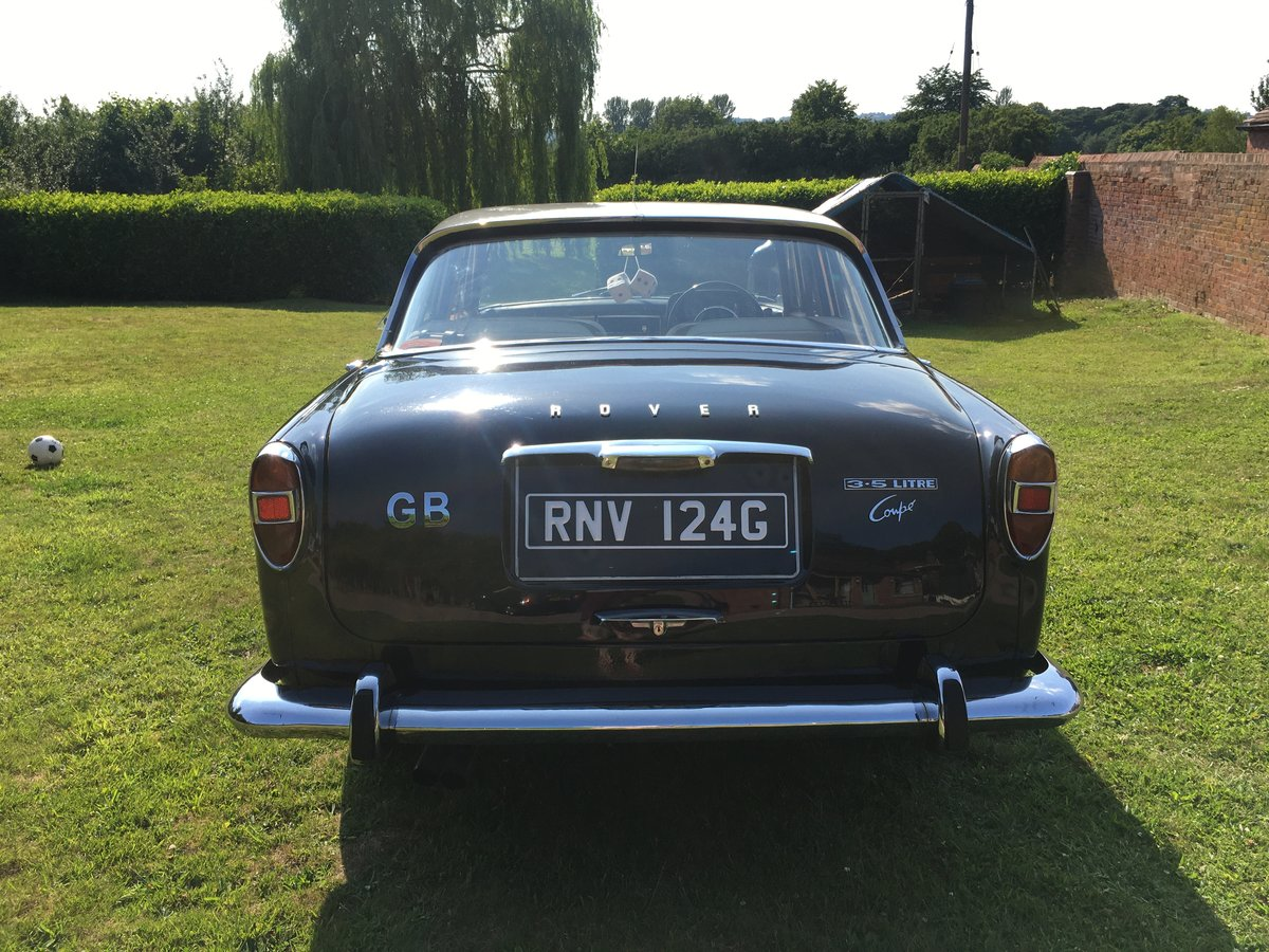 1968 Rover P5B 3.5 Litre Coupe For Sale (picture 3 of 6)