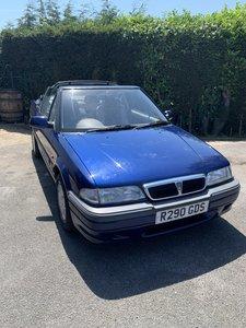 Rover 216 Cabriolet Blue