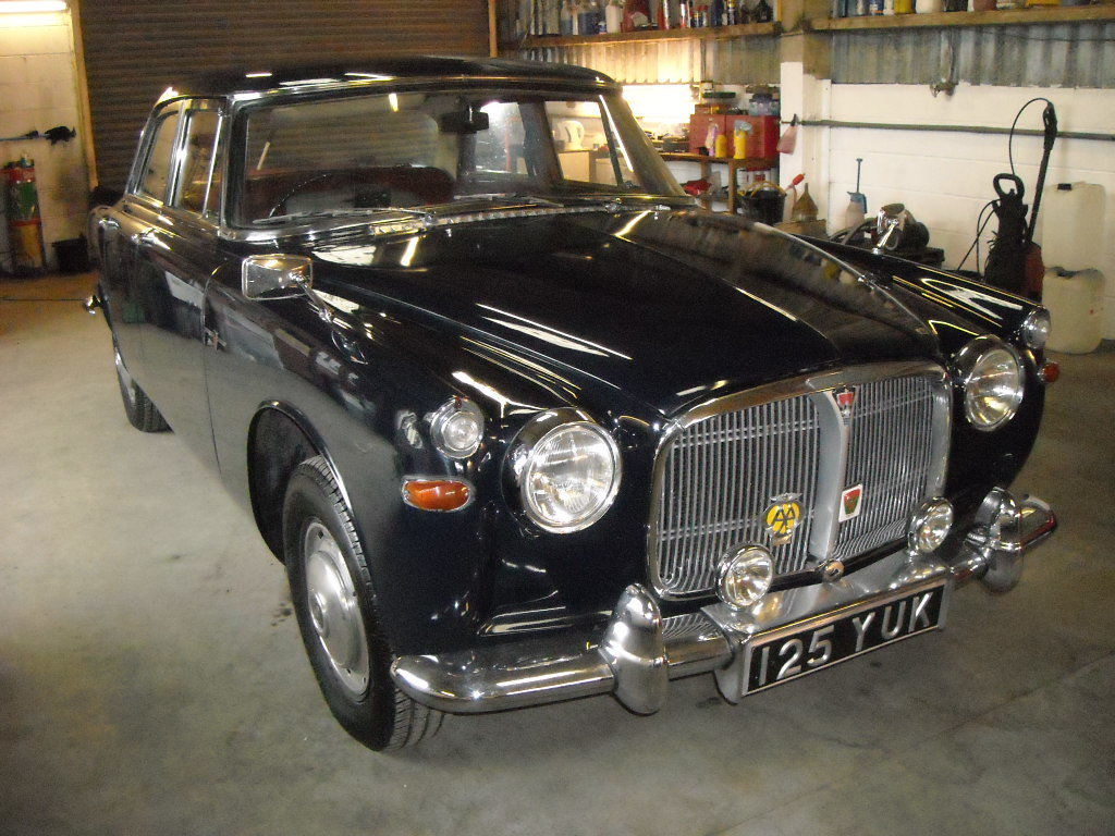 1962 ROVER P5 AUTO WITH PAS HONEST OLD CAR For Sale (picture 1 of 6)