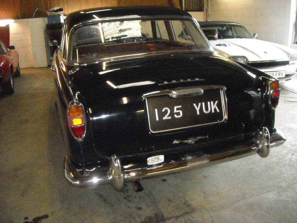 1962 ROVER P5 AUTO WITH PAS HONEST OLD CAR For Sale (picture 4 of 6)