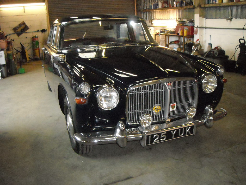 1962 ROVER P5 AUTO WITH PAS HONEST OLD CAR For Sale (picture 6 of 6)