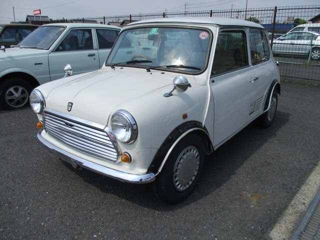 ROVER MINI 1987 MINI 1.0 PARK LANE ONLY 16411 MILES FROM NEW For Sale (picture 1 of 6)