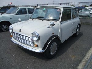 ROVER MINI 1987 MINI 1.0 PARK LANE ONLY 16411 MILES FROM NEW For Sale