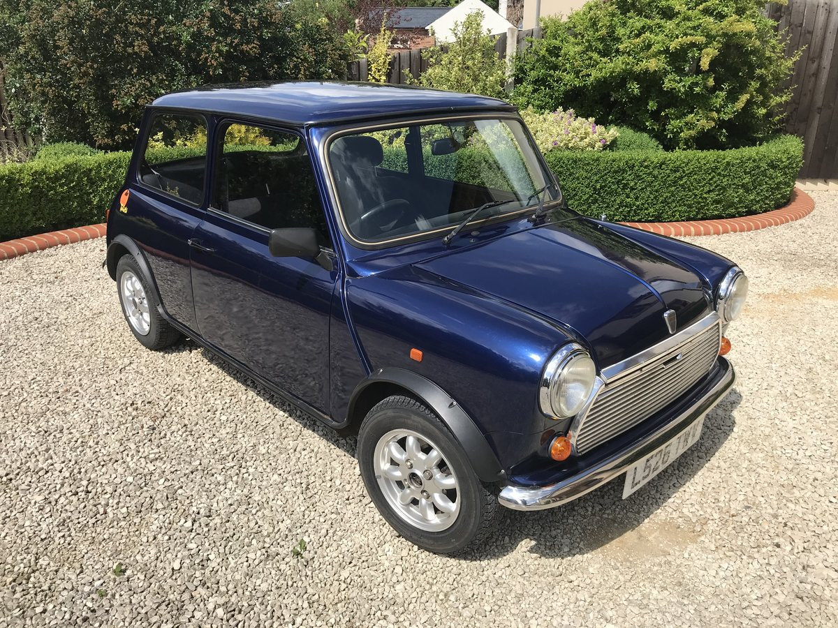 1994 Mini Rover Tahiti Blue 1275CC Limited Edition  For Sale (picture 2 of 6)