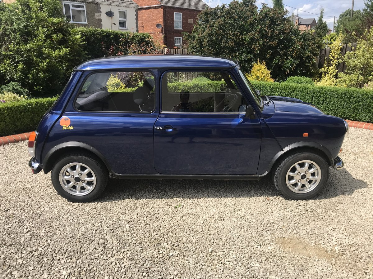 1994 Mini Rover Tahiti Blue 1275CC Limited Edition  For Sale (picture 5 of 6)