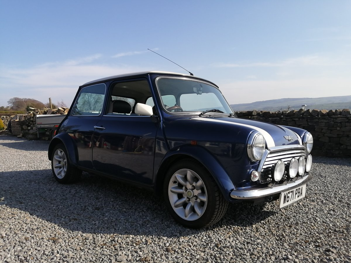 2000 Mini Cooper Sport with 20k miles from new. SOLD (picture 1 of 4)