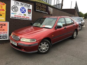 1996 Rover 416 - only 2 owners from new, 1.6 petrol, manual  For Sale