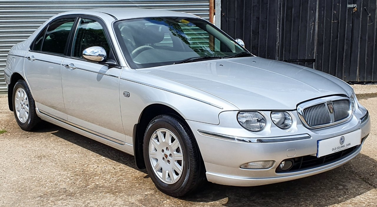 2003 ONLY 34,000 Miles - Rover 75 Connoisseur SE 2.5 V6 - 1 Owner SOLD (picture 2 of 10)