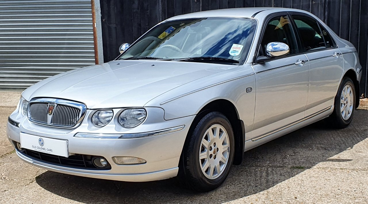 2003 ONLY 34,000 Miles - Rover 75 Connoisseur SE 2.5 V6 - 1 Owner SOLD (picture 3 of 10)