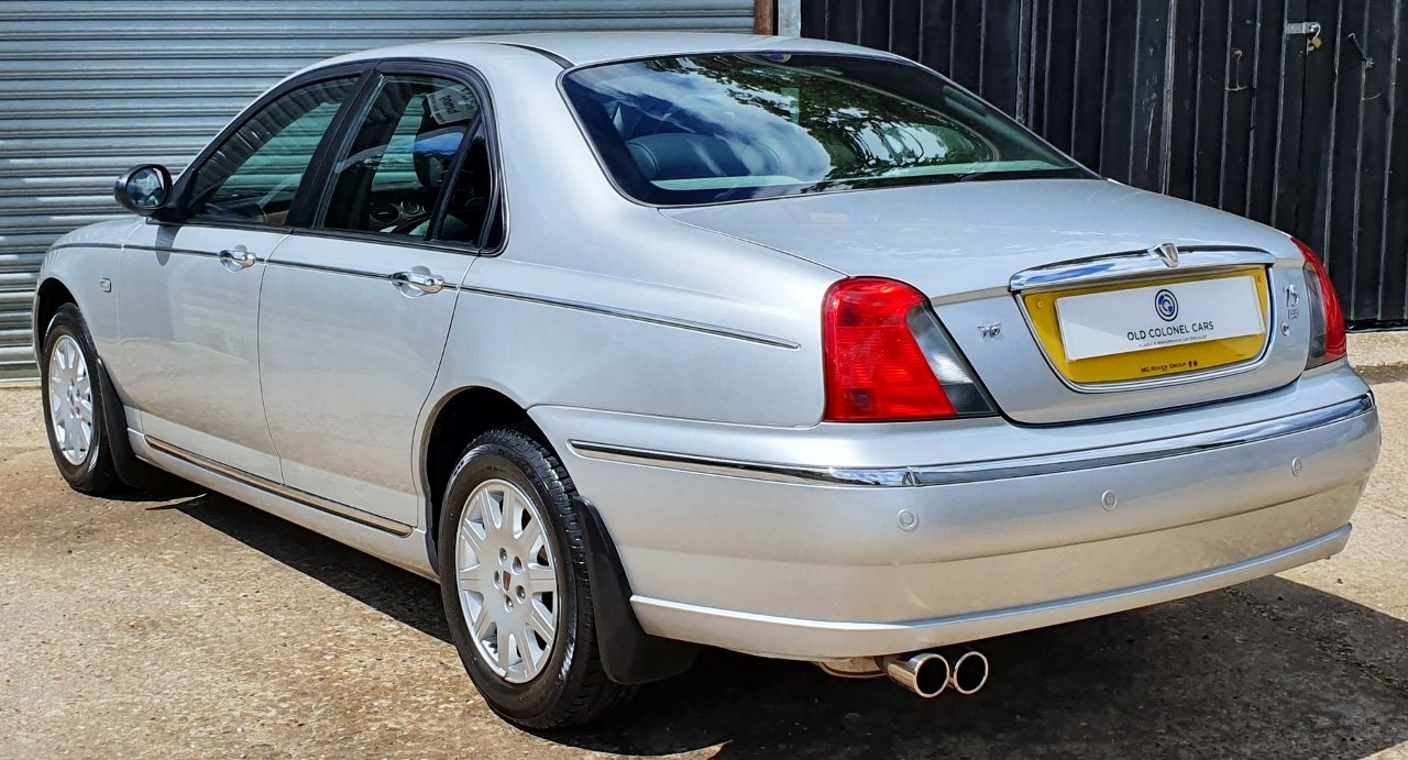 2003 ONLY 34,000 Miles - Rover 75 Connoisseur SE 2.5 V6 - 1 Owner SOLD (picture 4 of 10)