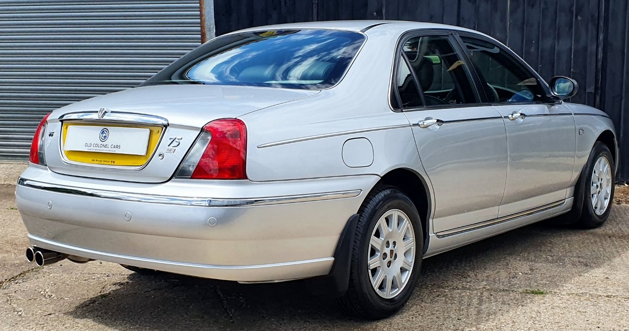 2003 ONLY 34,000 Miles - Rover 75 Connoisseur SE 2.5 V6 - 1 Owner SOLD (picture 5 of 10)
