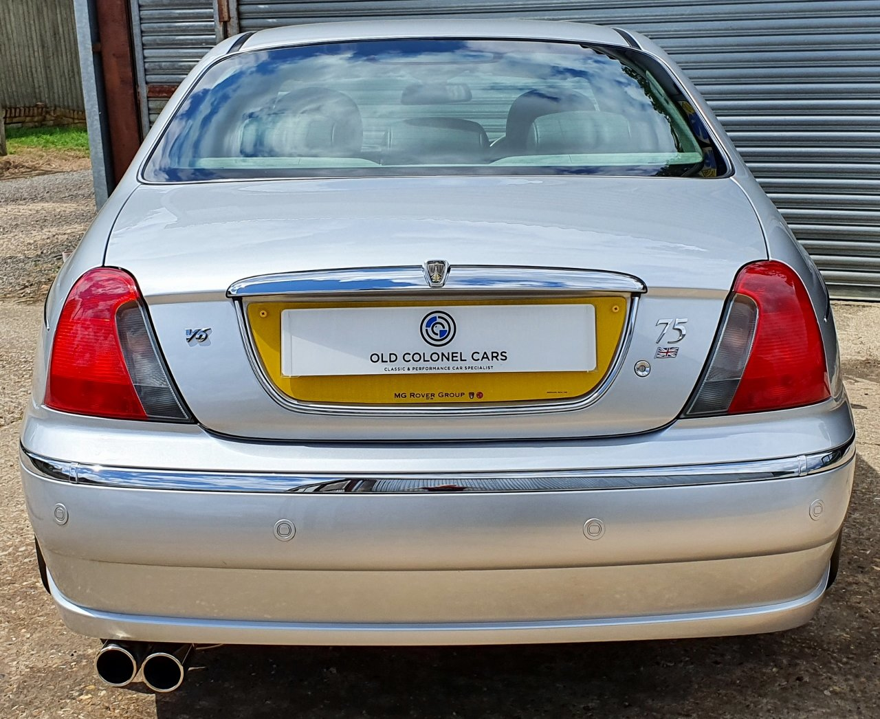 2003 ONLY 34,000 Miles - Rover 75 Connoisseur SE 2.5 V6 - 1 Owner SOLD (picture 6 of 10)