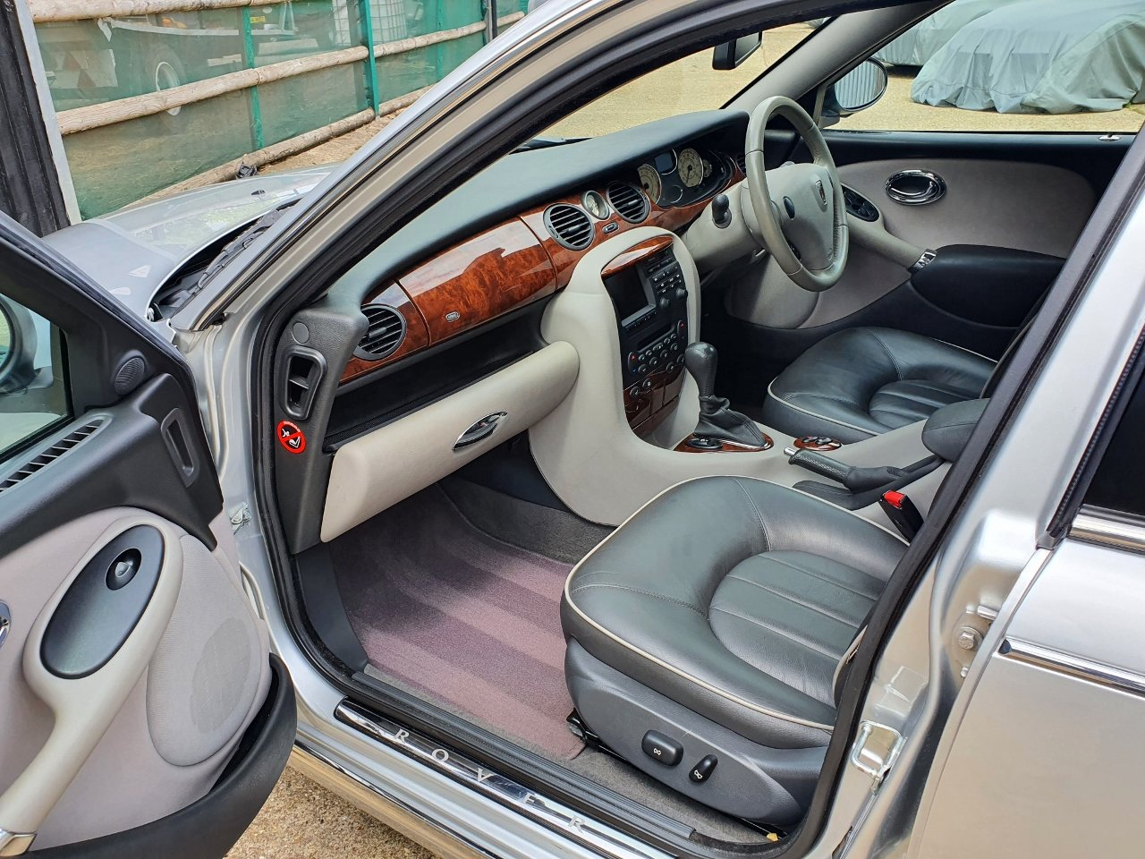 2003 ONLY 34,000 Miles - Rover 75 Connoisseur SE 2.5 V6 - 1 Owner SOLD (picture 8 of 10)
