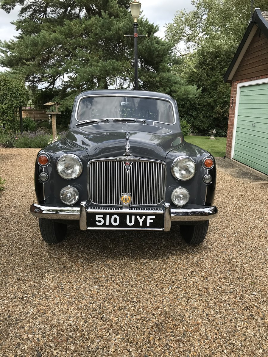 1957 Rover P4 SOLD (picture 1 of 6)