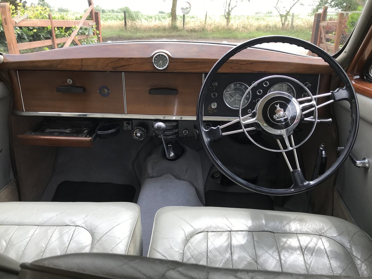 1957 Rover P4 SOLD (picture 6 of 6)