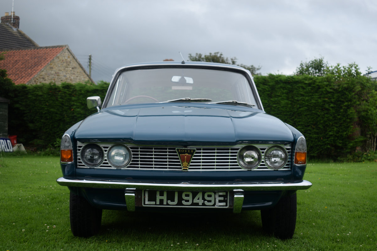 1967 ROVER 2000 AUTO - RARE SERIES 1, RESTORED. LOVELY! SOLD (picture 1 of 6)