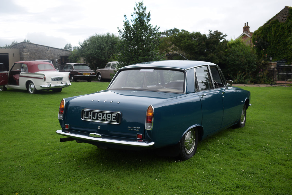 1967 ROVER 2000 AUTO - RARE SERIES 1, RESTORED. LOVELY! SOLD (picture 4 of 6)