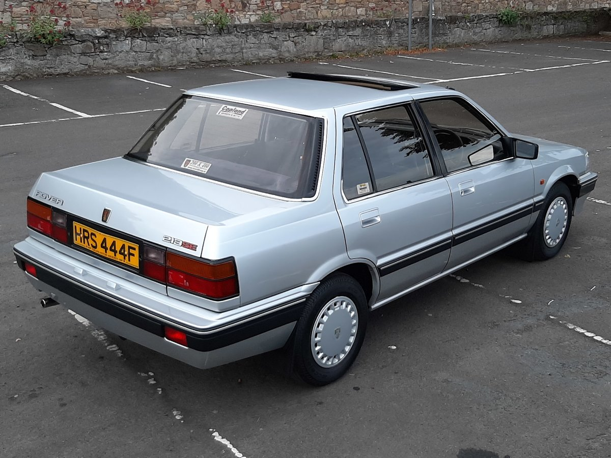 1988 Rover 213 SE Auto. For Sale (picture 4 of 6)