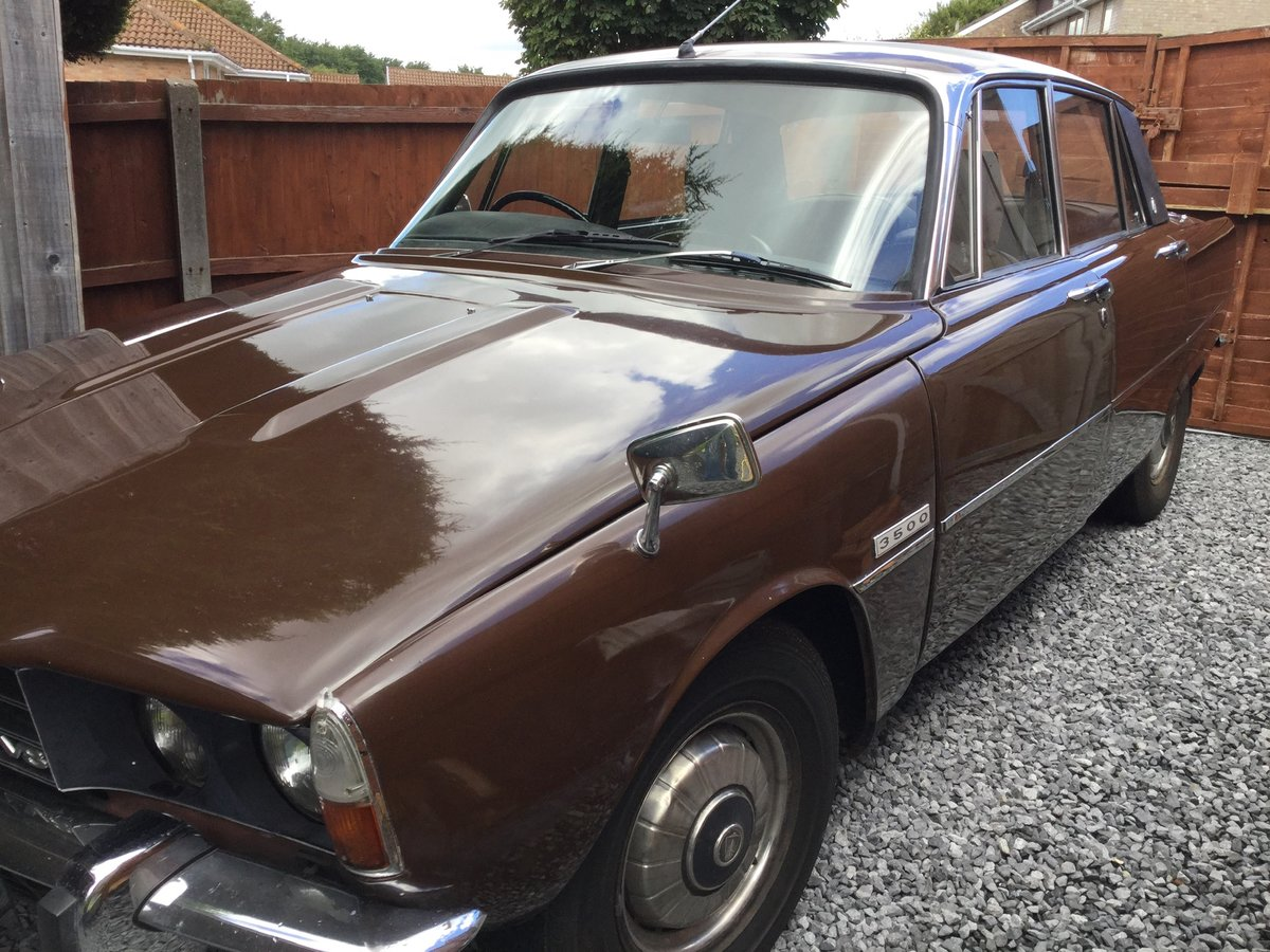 1972 Rover P6 3500 auto  SOLD (picture 1 of 6)