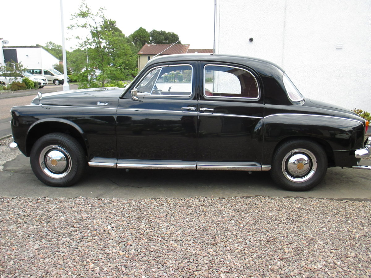 1958 Rover P4 // Low millage For Sale (picture 1 of 6)