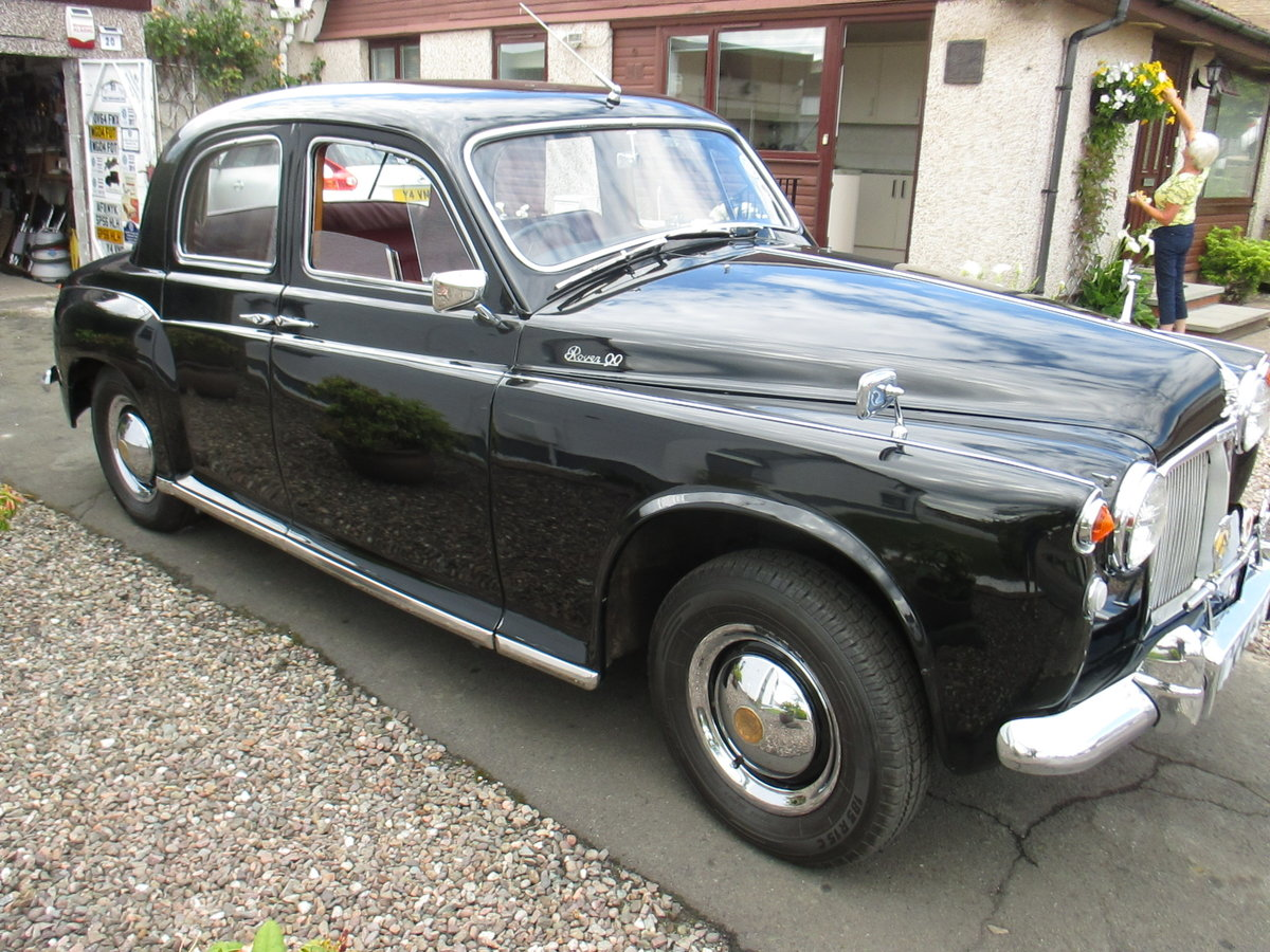 1958 Rover P4 // Low millage For Sale (picture 2 of 6)