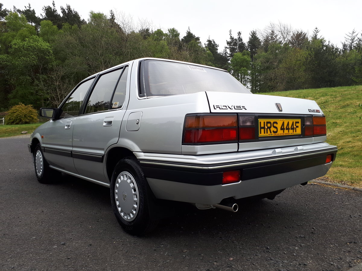 1988 Rover 213 SE Auto. For Sale (picture 3 of 6)