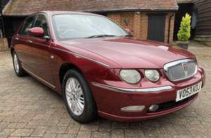 2003 ROVER 75 CLUB CDT SE AUTOMATIC For Sale by Auction