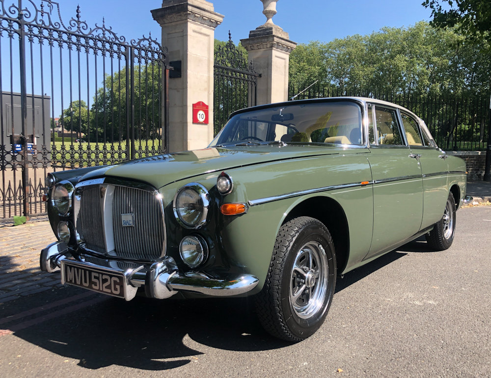 1969 Rover P5B For Sale (picture 1 of 24)