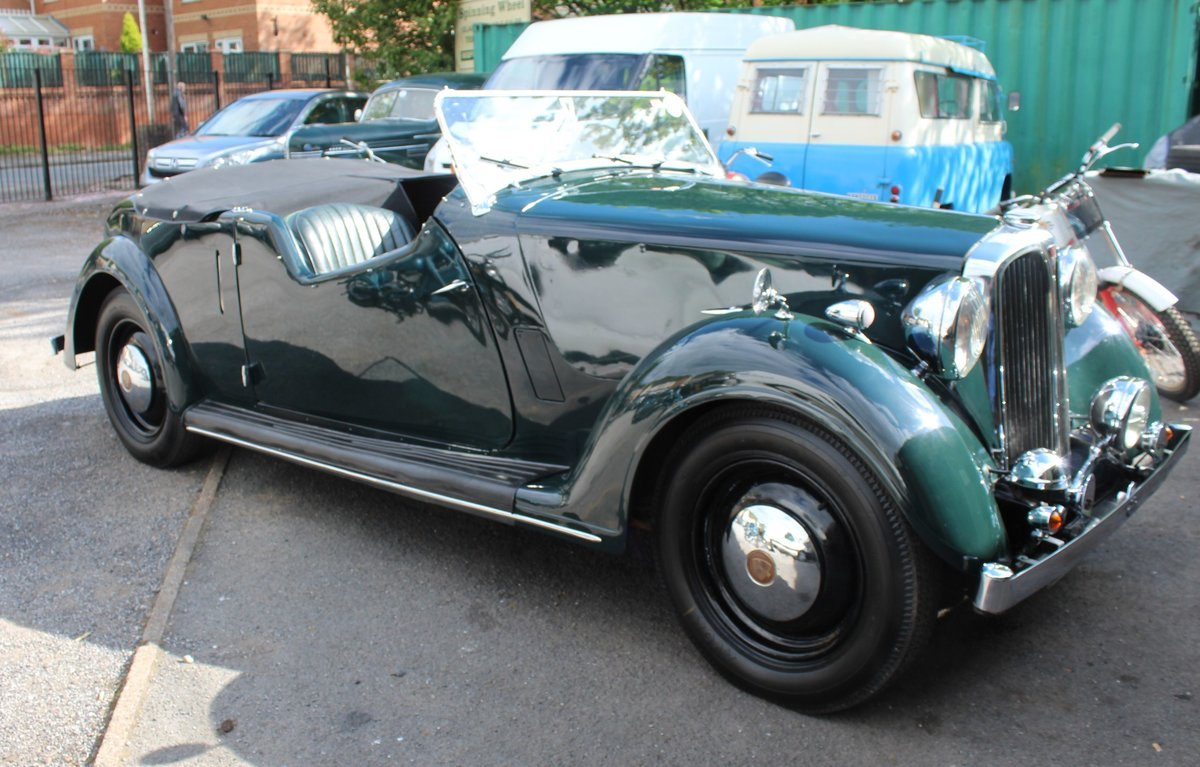 1947 Rover 12HP 1495 cc Open Four Seat Tourer  SOLD (picture 1 of 6)