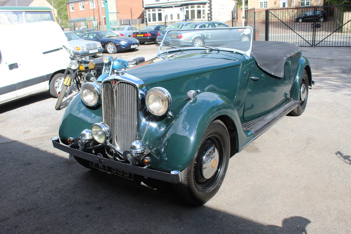 1947 Rover 12HP 1495 cc Open Four Seat Tourer  SOLD (picture 2 of 6)