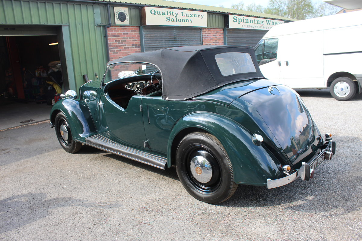 1947 Rover 12HP 1495 cc Open Four Seat Tourer  SOLD (picture 4 of 6)