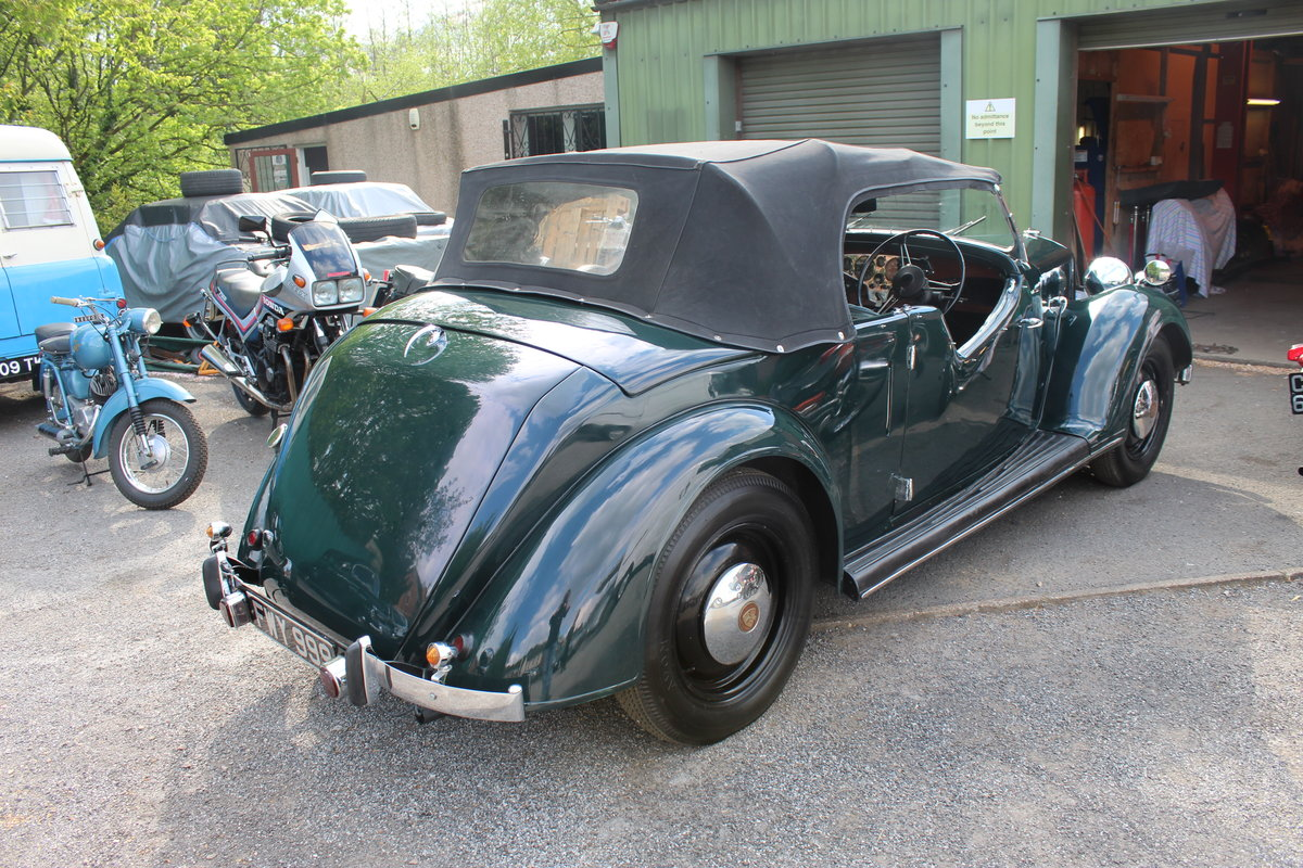 1947 Rover 12HP 1495 cc Open Four Seat Tourer  SOLD (picture 6 of 6)