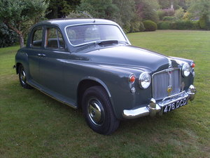 1963 Rover 95 P4 Manual O/D For Sale